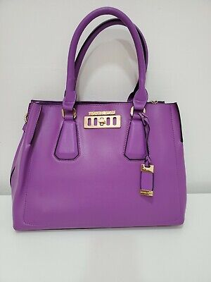 Michael Kors copied purple leather Tote Handbag  Purse