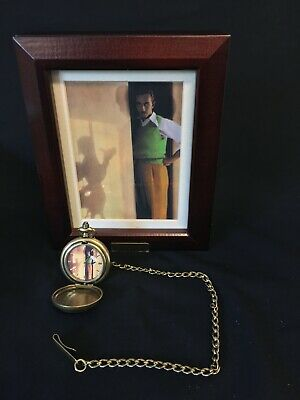 Walt Disney Mickey Mouse Me and My Shadow Limited Edition Pocket Watch