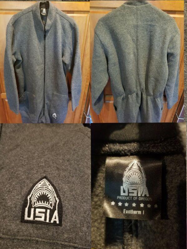 USIA Military Exotherm I Diver Dry Suit Undergarment Large FLEECE Scuba