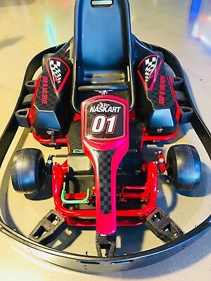 NASKART Velocity Professional Indoor Rental Electric Go Karts