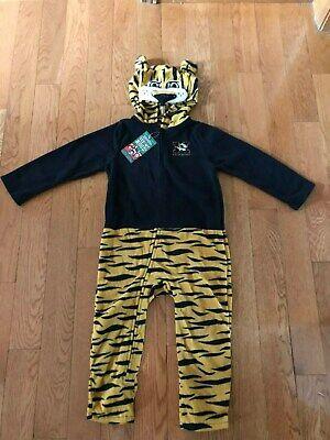 Tiger Pajama Costume (Mascot Wear Missouri Tigers Toddler Costume /Pajamas Size 5T NWT FAST)