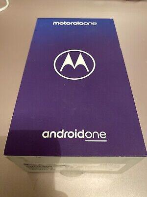 "Motorola One Android One 64gb 4G 5.9"" HD+ Max Vision Smartphone Black XT1941-4"