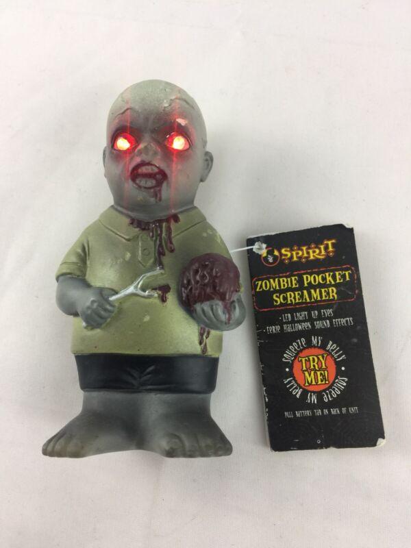 Zombie baby pocket screamer Spirit Halloween