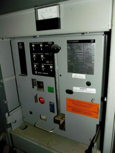 Westinghouse 1600A 600V Air Circuit Breaker DS 416 1200A Trip Sensor