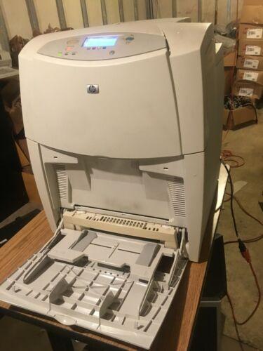 HP color laserjet 4600dn, great working printer.