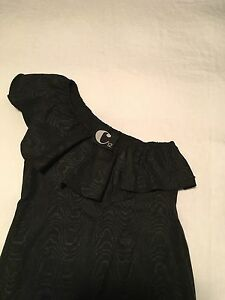 Cassette Society, black one shoulder dress, size 12 Currumbin Waters Gold Coast South Preview