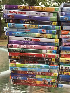 Children and family DVD's