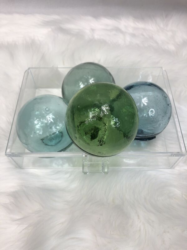 "Vintage Glass Spheres - 3"" Fishing Float Ball"