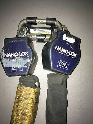 Dbi-sala 3101254 Nano-lok Twin-leg Self Retracting Lifeline Rebar Hooks