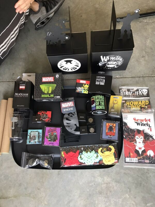 Loot Crate Marvel Lot
