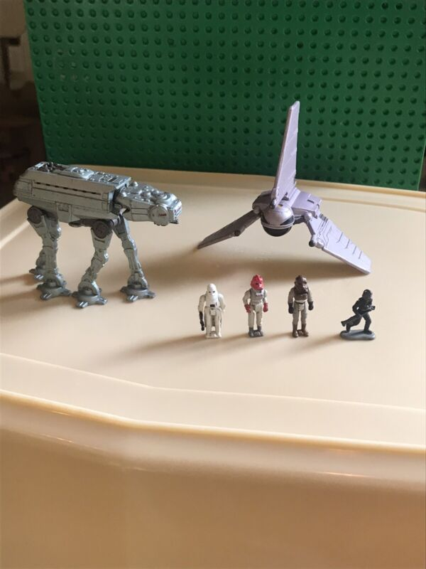 STAR WARS Micro Machines Galoob  Action Figures AT-AT Walker Space Ship