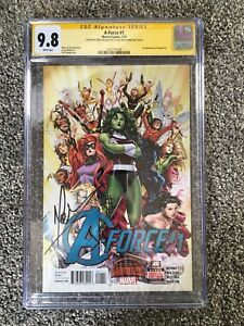 A-Force #1 CGC Signed