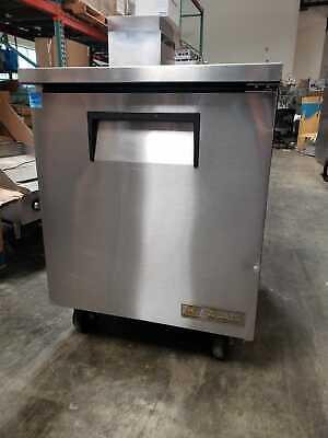True 1 Door Under Counter Refrigerator - Tuc-27 - Works Great