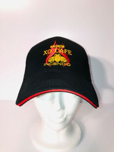Patron XO Cafe Incendio Hat - Black with Red/Gold Highlights - Adjustable - New!