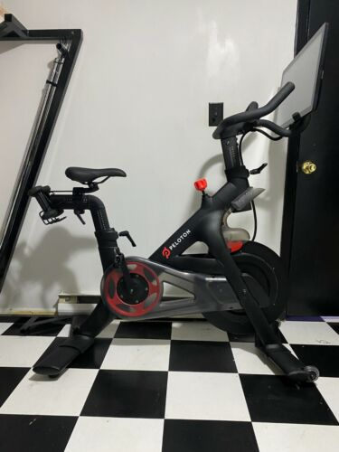 Peloton Bike w Tools,Weights, W Shoes 8, Extra Touch Screen- Excellent Condition