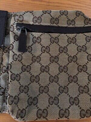 Gucci Vintage Genuine Gucci Waist Belt Beg Fanny Pack Unisex