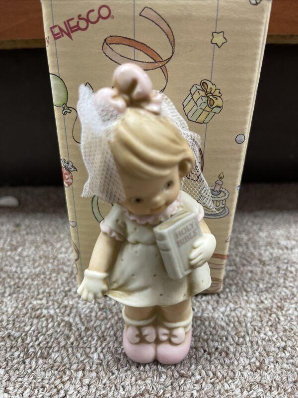 Memories of Yesterday Figure Communion Girl New 135186 1994 w/ Box