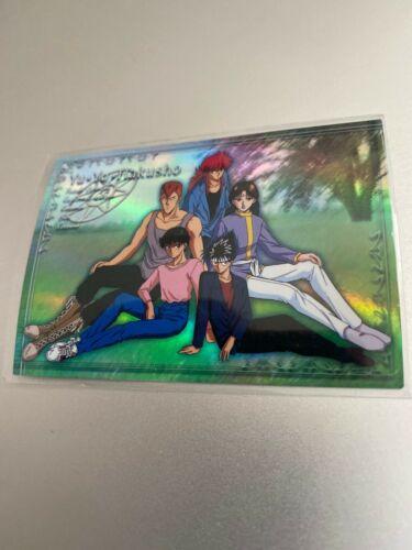 Yu Yu YuYu Hakusho Collectible Perfect Collection Trading Box Insert Card 2