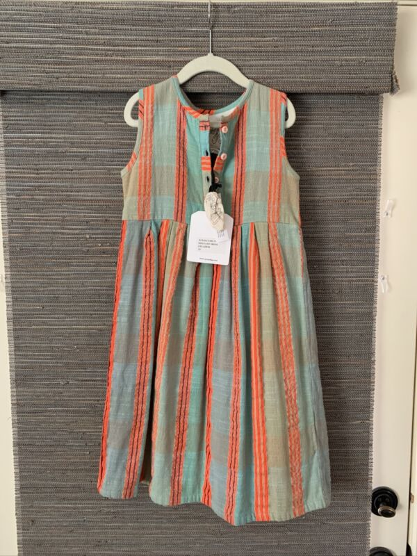 ace & jig Kids Girls 5y Mini Cliff Dress Celadon NWT