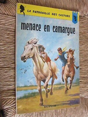 MITACQ LA PATROUILLE DES CASTORS MENACE EN CAMARGUE N°12 de 1965  EO