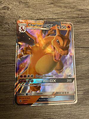 Charizard GX SM211 Ultra Rare Holo Pokemon Hidden Fates Black Star Promo NM