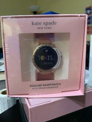 kate spade new york Women's Scallop 2 Stainless Steel Touchscreen smartwatch