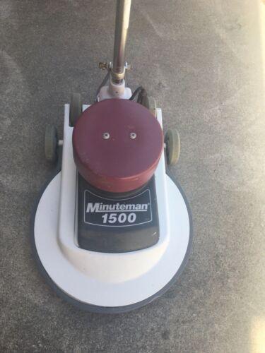 "Minuteman 1500 M20130-00 20"" 115V 14A 60Hz Electric Floor Burnisher"
