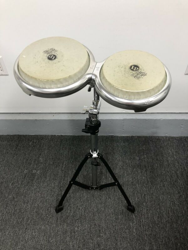 double LP Compact Conga set with Pearl stand