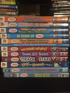 Thomas and friends (Thomas the Tank Engine) DVDS!