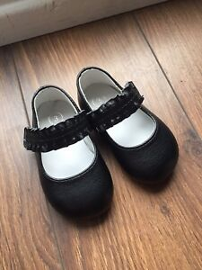 Brand new black dress shoes size 3