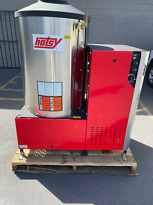 Hotsy 5733ss 7.8 Gpm 3000psi 460v 3 Ph Oil Fired Hot Water Pressure Washer