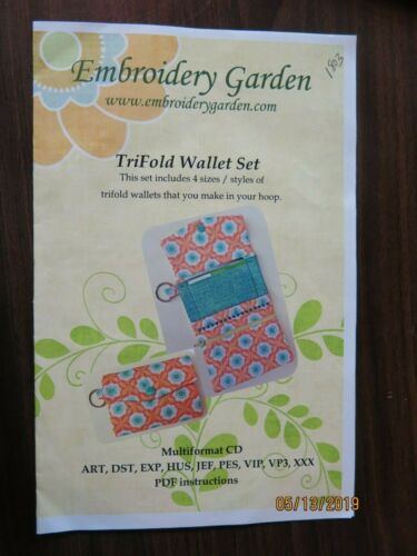 NEW Embroidery Gardens CD Designs GH1803-7 1987 ES50-53