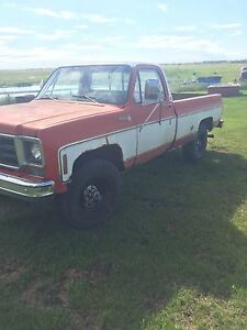 1976 GMC Scotsdale 4X4