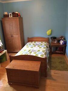 Set de chambre lit simple évolutif