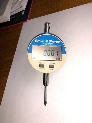 Brown Sharpe Digital Indicator 599-1034 Excellent Mm Inch