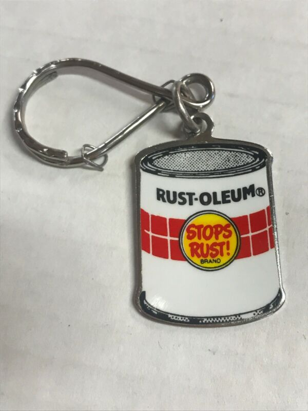 Rust - Oleum Stop Rust Can Keychain