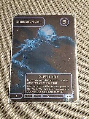 Star Wars Destiny Spark of Hope Nightsister Zombie Worlds Promo Foil