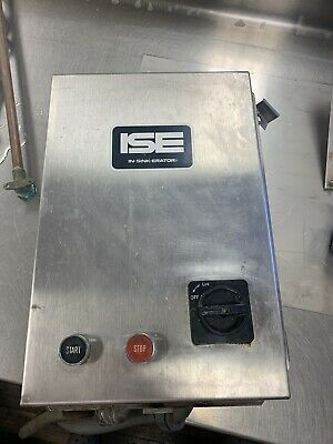 Commercial Stainless Steel Electrical Control Panel For In-sink-erator Ise Ss150