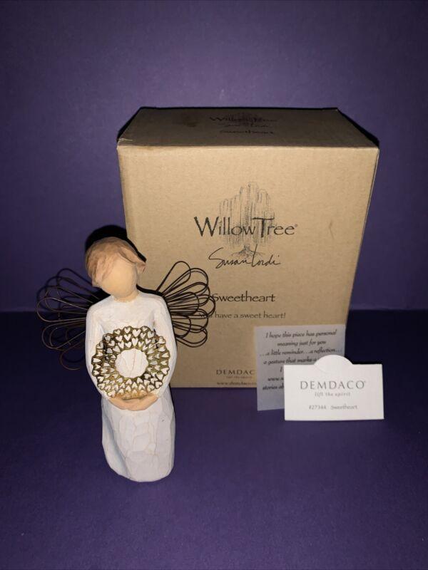 """Willow Tree Figurine """"Sweetheart"""" Susan Lordi Demdaco New (#27344)"""