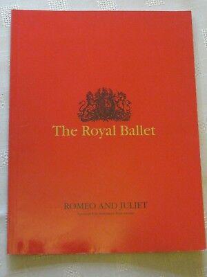 Royal Opera House Program / 7 JAN 1994 / ROMEO AND JULIET / MARK ERMLER