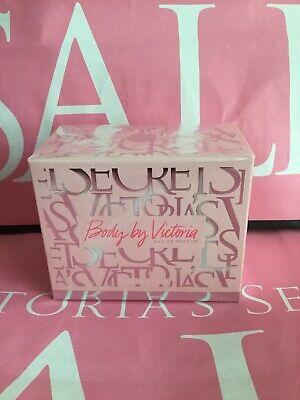 Victoria Secret BODY BY VICTORIA Fragrance EDP Perfume 3.4 Oz  full size.sealed