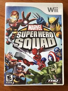 Wii Marvel Super Hero Squad Game