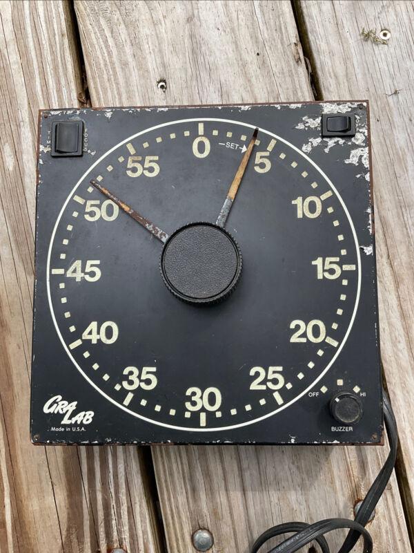 Vintage Safelight Gralab Timer Model 300 Photo Developing Picture Timer