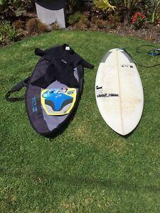 Surfboard & Wetsuit