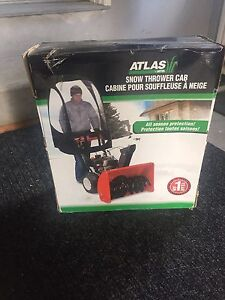 Snowblower cab - new in box