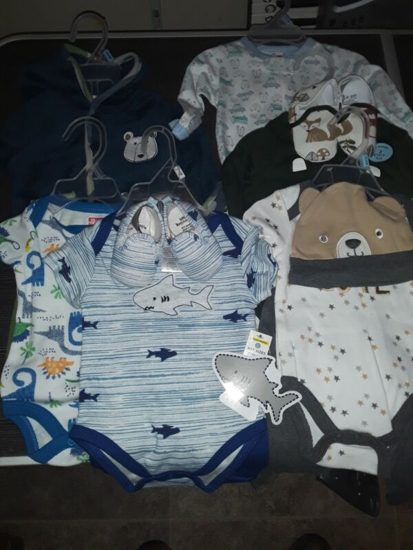 Baby clothes 0 3 months boys lot