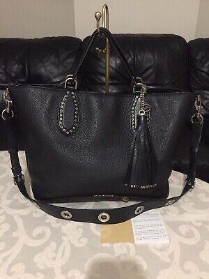 "Michael Kors ""Brooklyn "" Large Tassel Grab Bag, Cross Body, Hardly Used, RRP£445"