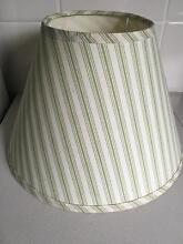 Laura Ashley Lamp Shade - Cream/Off White and Green Adamstown Newcastle Area Preview
