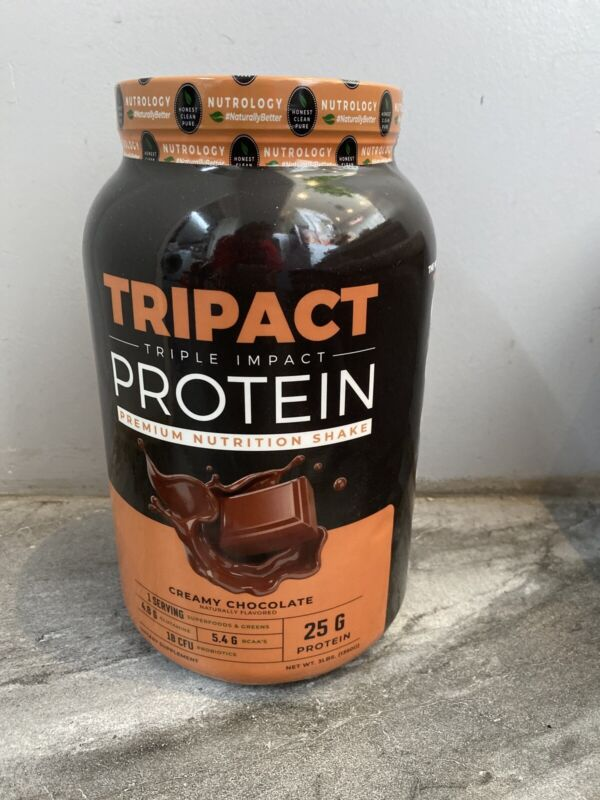 Nutrology - TRIPACT Protein - Creamy Chocolate 3lb Premium Nutrition Shake