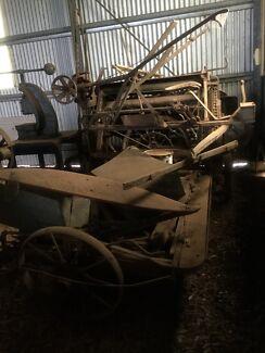 Binder Sheaf Hay Maker
